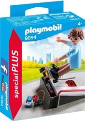 Playmobil - Special Plus - Skater met skateramp