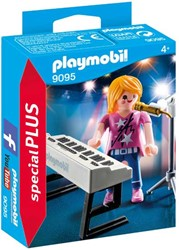 Playmobil - Special Plus - Zangeres met keyboard