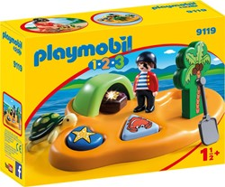 Playmobil - Playmobil 1,2,3 - 1.2.3 Pirateneiland
