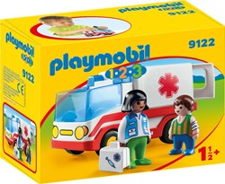 Playmobil - Playmobil 1,2,3 - 1.2.3 Ziekenwagen