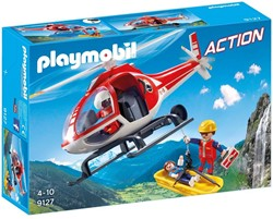 Playmobil  Action Reddingswerkers met helikopter 9127