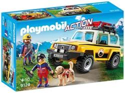 Playmobil Action - Reddingswerkers met terreinwagen  9128
