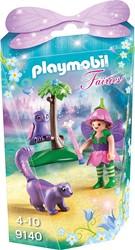 Playmobil  Fairies Elfje met uil en stinkdier 9140