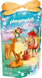 Playmobil  Fairies Elfje met hertenkalfjes 9141
