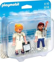 Playmobil  DuoPack Steward en stewardess 9216