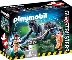 Playmobil - Ghostbusters - Venkman en Terror Dogs