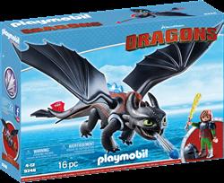 Playmobil Dragons Hikkie en Tandloos 9246