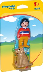Playmobil - Playmobil 1,2,3 - 1.2.3 Man met hond