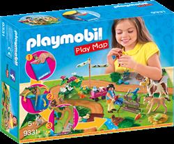 Playmobil Country Play Map ponyrijders met plattegrond 9331