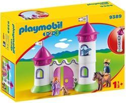 Playmobil 1.2.3 Kasteelpoort met koningskoppel  9389