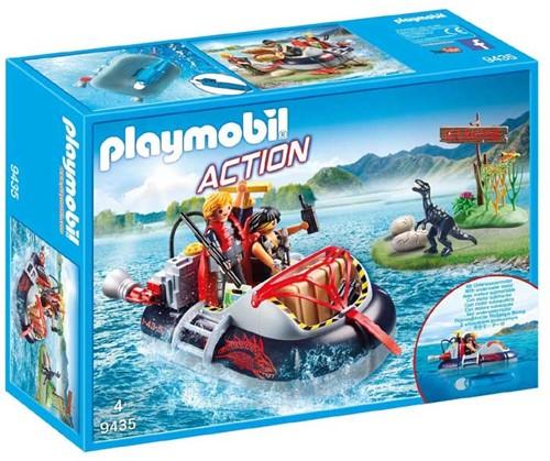 Playmobil Action - Hovercraft met onderwatermotor  9435