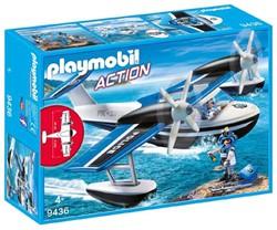 Playmobil Action - Politiewatervliegtuig  9436