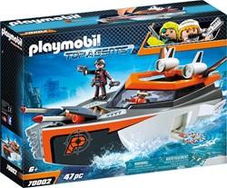 Playmobil Top Agents - SPY TEAM Turboschip 70002