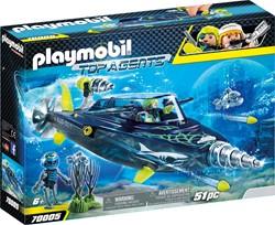 Playmobil Top Agents - TEAM S.H.A.R.K. Drilonderzeeër 70005