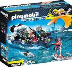 Playmobil Top Agents - TEAM S.H.A.R.K. Harpoenboot 70006