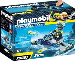 Playmobil Top Agents - TEAM S.H.A.R.K. Raketscooter 70007