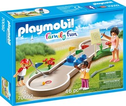 Playmobil Family Fun  - Minigolf 70092