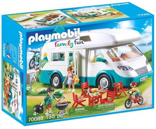 Playmobil Family Fun  - Mobilhome met familie 70088