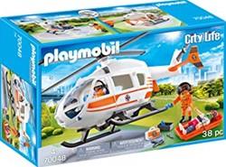 Playmobil City Life - Eerste hulp helikopter 70048