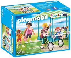 Playmobil Family Fun  - Familiefiets 70093