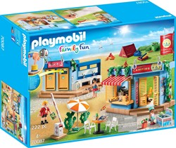 Playmobil Family Fun  - Grote camping  70087