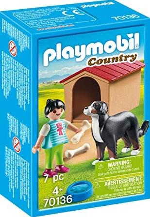 Playmobil Country - Jongen met hond 70136