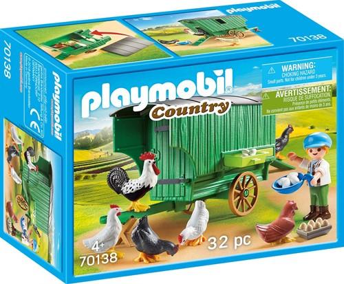 Playmobil Country - Kind met kippenhok 70138