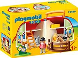 Playmobil 1.2.3 - Mijn meeneem manege 70180