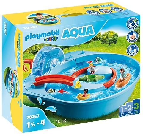 Playmobil 1.2.3 Aqua - Vrolijke waterbaan 70267
