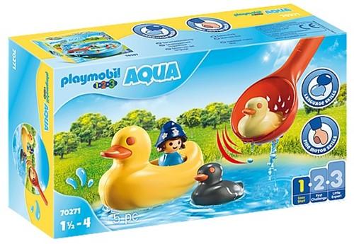 Playmobil 1.2.3 Aqua - Eendenfamilie 70271