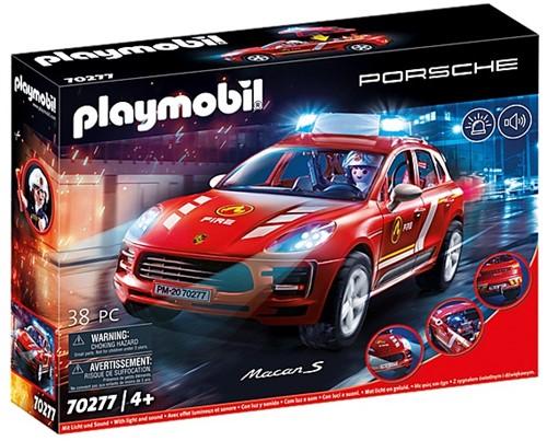 Playmobil Porsche - Porsche Macan S Brandweer 70277
