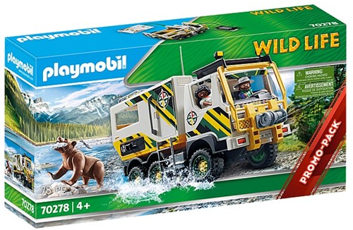 Playmobil Wildlife - Expeditietruck 70278