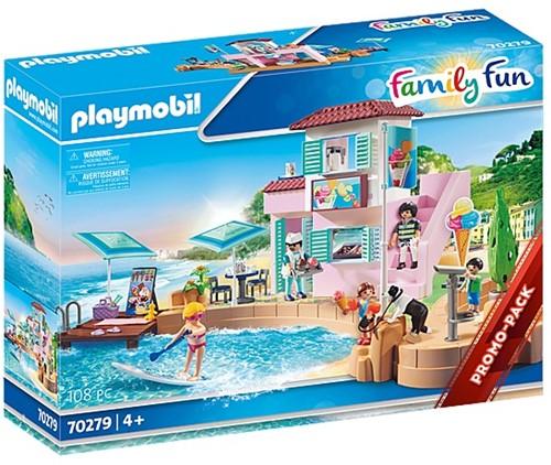 Playmobil Family Fun - Ijssalon aan de haven 70279
