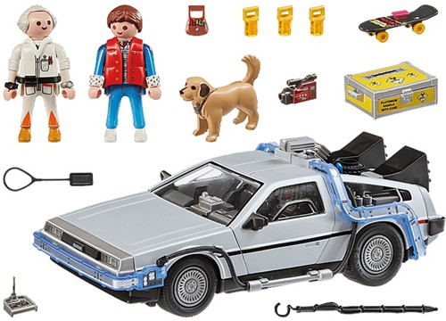 Playmobil Back To The Future - Back to the Future DeLorean 70317