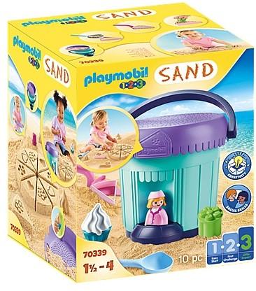 Playmobil 1.2.3 Sand - Zandbakkerij 70339