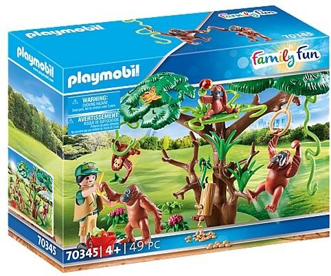 Playmobil Family Fun - Oerang-Oetans in de boom 70345