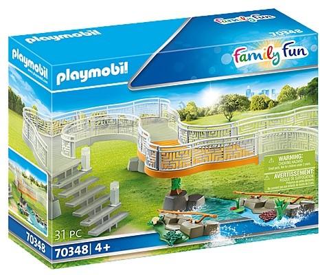 Playmobil Family Fun - Uitbreidingsset voor dierenpark 70348