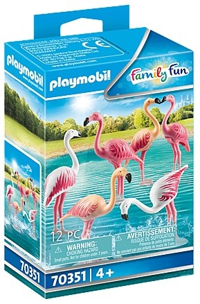 Playmobil Family Fun - Zwerm flamingo's 70351