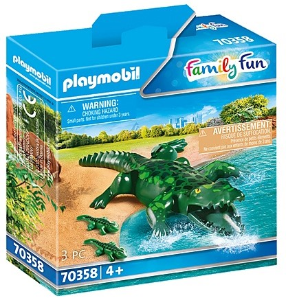Playmobil Family Fun - Alligator met baby 70358