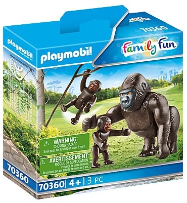 Playmobil Family Fun - Gorilla met babies 70360