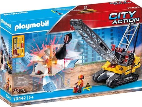 Playmobil City Action - Kabelgraafmachine met bouwonderdeel  70442