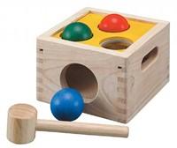 Plan Toys  houten leerspel Hamer en val spel