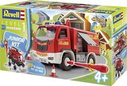 Revell  modelbouw Junior kit fire truck 1:20
