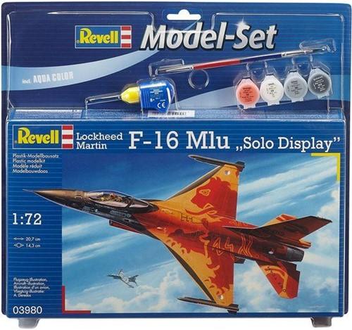 Revell  modelbouw model- F16 MLU