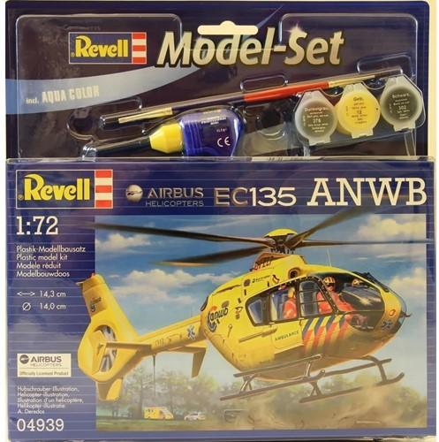Revell MODEL SET AIRBUS HELI EC135 ANWB 64939