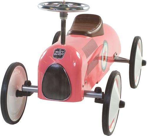 Retro Roller  loopauto roze Lara-2