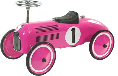 Retro Roller loopauto roze Marilyn