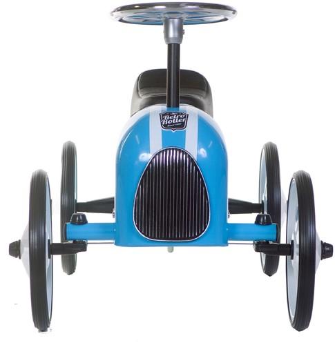 Retro Roller  loopauto blauwe Michael-3