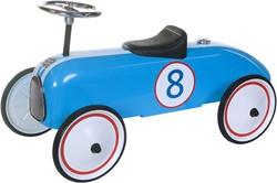 Retro Roller  loopauto blauwe Michael