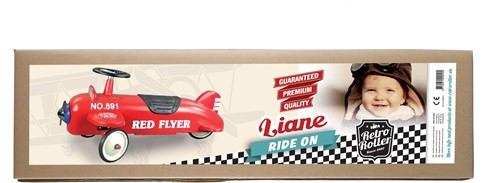 Retro Roller  loopauto Aeroplane Liane-3